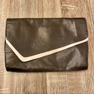 Leather Zara Clutch Bag